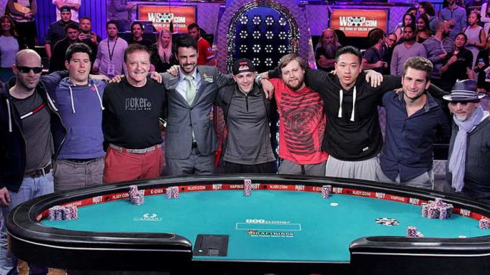 And the WSOP 2015 Main event Final table winner is…