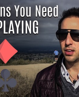 when to quit playing poker