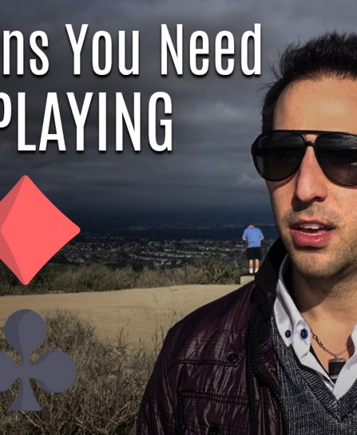 The 4 Signs You Need to Quit Playing Poker